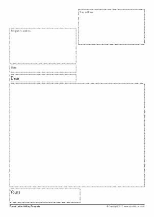 Letter Writing Frames and Printable Page Borders KS1 & KS2 ...