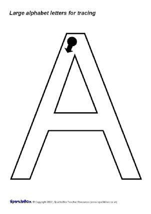 Sparklebox Capital Letter Formation