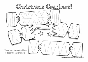 how to draw a cracker