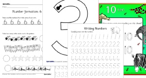 letter formation worksheets teaching resources for early years sparklebox. Black Bedroom Furniture Sets. Home Design Ideas