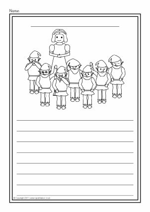 Colour and Write Worksheets for Early Years & KS1 - SparkleBox