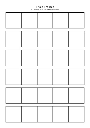 Free Printable Tens Frames For Primary School Sparklebox