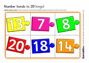 how to teach number bonds to children
