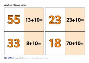 missing number worksheet new 550 missing number addition sparklebox. Black Bedroom Furniture Sets. Home Design Ideas