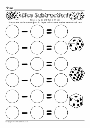 Thanksgiving Subtraction Worksheet 1