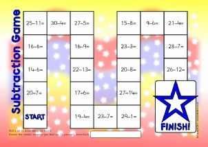 Primary School Subtraction Activities and Games resources - SparkleBox