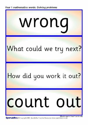 Problem Solving Ks2