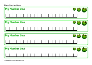 photo regarding Blank Number Line Printable titled Printable Quantity Traces for Early Yrs and Secret Level One particular