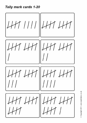 Printable Counting Flash Cards and Posters for Primary - SparkleBox