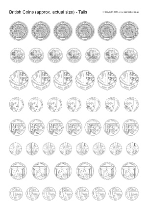 currency coloring pages french euro - photo#13