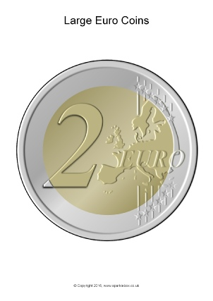 photograph about Large Printable Coins identify Euro Cash and Monetary Training Components and Printables