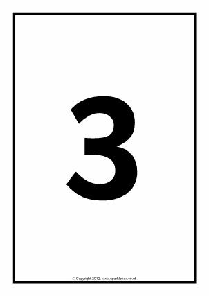EYFS & KS1 Printable Number Cards - SparkleBox