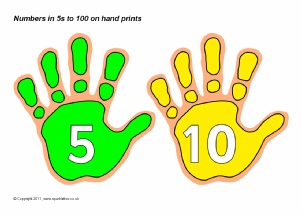 graphic about Printable Handprints named Figures upon Footprints and Hand Prints Selection Clroom