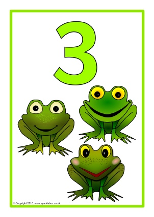 Number Names Worksheets printable numbers 1 to 10 : Printable Number Posters and Friezes for Primary School - SparkleBox
