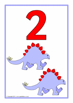 Common Worksheets » Number Posters 1-10 - Preschool and ...