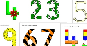 Numbers Primary Teaching Resources and Printables- SparkleBox