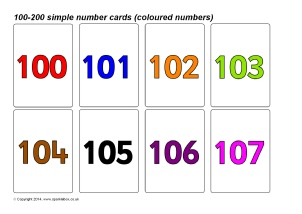 photograph relating to Printable Number Cards 1 100 referred to as Quantity Flash Playing cards Principal Coaching Components Printables