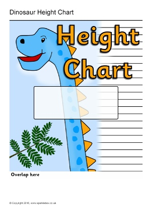 graphic regarding Printable Height Chart known as Cost-free printable little one top charts - SparkleBox