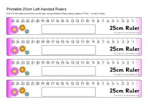 picture regarding Centimetre Ruler Printable identified as No cost Measuring Key Maths Training Components - SparkleBox