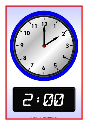 O'clock Times Primary Teaching Resources and Printables