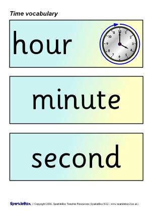 Time Teaching Resources & Printables for KS1 & KS1 - SparkleBox