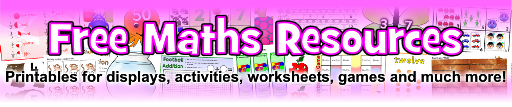 Primary Maths Teaching Resources Printables SparkleBox – Primary Resources Maths Worksheets