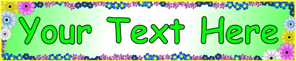 Editable Classroom Display Banners - SparkleBox