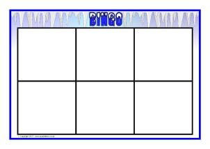 Editable Primary School Bingo Boards Lotto Boards Sparklebox