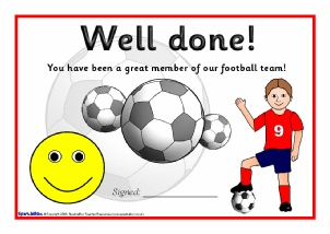 printable sport certificates  Primary School Sports Clubs Printable Resources, certificates ...