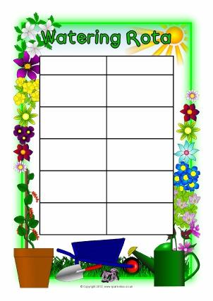 Primary school Gardening Club resources, certificates, banners