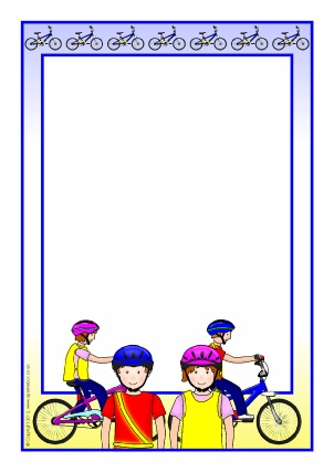 Картинки с велосипедистами для рамок для текста, для любимого