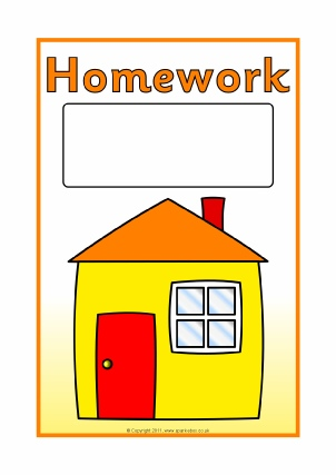 Free Printable Homework Teaching Primary Resources - SparkleBox