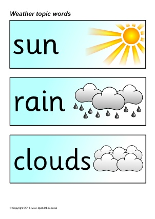 FREE Weather and Seasons Topic Teaching Resources and Printables