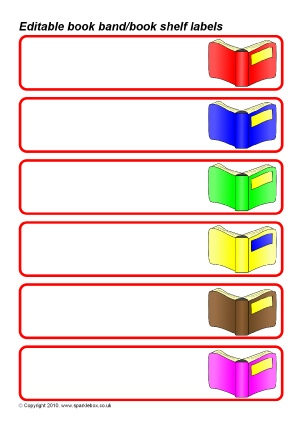 School Library Signs And Labels For Primary Sparklebox