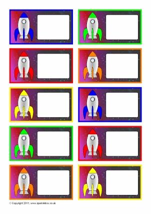 Editable Classroom Peg Labels - SparkleBox