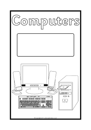 Science Folder Coloring Pages