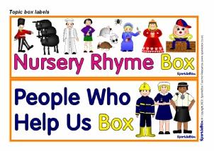 primary classroom resource box labels sparklebox