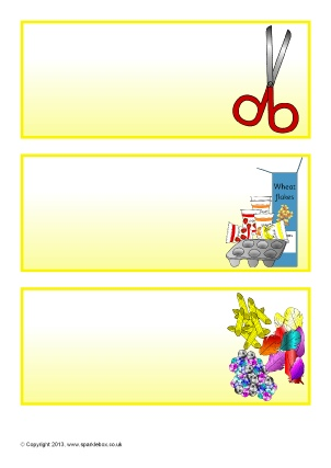 Primary Classroom Drawers & Cupboards Resource Labels