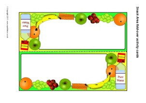 Snack Area Printable Classroom Signs and Labels for Early Years