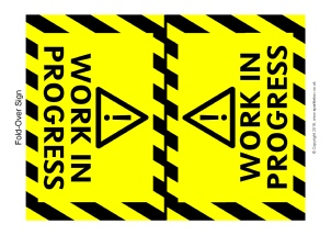 photograph relating to Free Printable Construction Signs referred to as Framework Place Printable Clroom Symptoms and Labels for