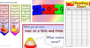 Book Corner / Reading Area Classroom Signs & Labels - SparkleBox