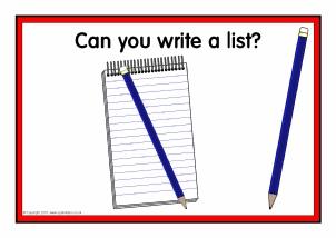 Essentials resources/displays in year 1 classroom?