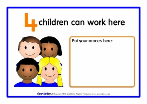 Printable Classroom Rules Signs and Labels for Primary
