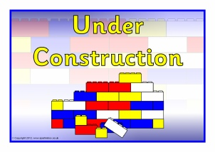Construction Area Printable Classroom Signs and Labels for