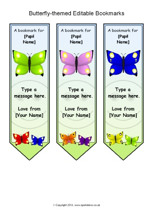 Butterfly-Themed Classroom Printables - SparkleBox
