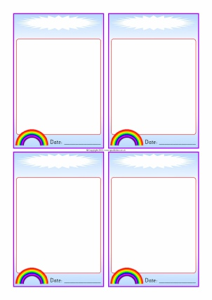 Rainbow-Themed Classroom Printables - SparkleBox