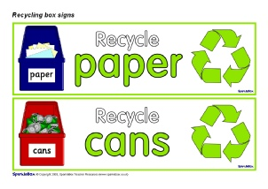photograph regarding Recycling Sign Printable referred to as Eco University and Recycling Indicators and Labels - SparkleBox