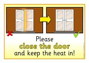 please close the door sign printable wwwpixsharkcom