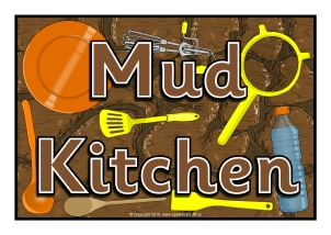 Eyfs Mud Kitchen Signs And Labels Sparklebox