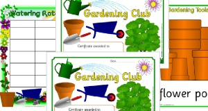 Primary Garden Area Signs and Labels - SparkleBox